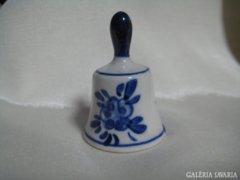 Miniatűr dísztárgy-kézzel festett porcelán harang