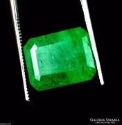 Columbiai smaragd drágakő csiszolatok GGL cerifikációval