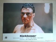 Kickboxer c. film mozi vitrin fotója