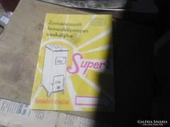 ZOMÁNCOZOTT     LEMEZKÖPENYES VASKÁLYHA SUPER 3