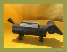Retro,régi kézműves cigitartó