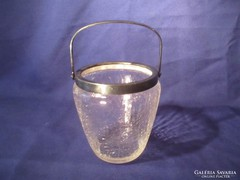 Repesztett üveg jég tartó  Á065