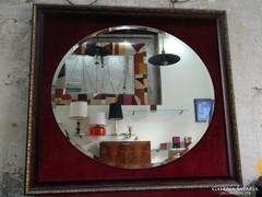Nagyméretű elegáns antik tükör