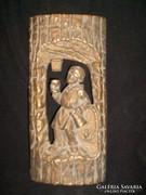 Bort tisztán a pálinkát piszkosul szereti fém falikép 32 cm