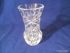 Kristály  váza A066