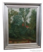 Vass Elemér olaj festmény