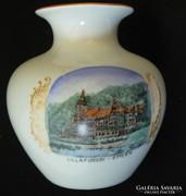 Lillafüredi emlék Zsolnay váza - antik