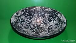 Gorka Géza kerámia tál kínáló asztalközép