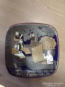 Finn Arabia kerámia fali tányér