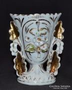 Antik domború mintás kis váza