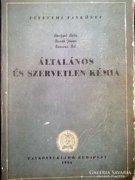 Általános- és szervetlen kémia egyetemi tankönyv, 1954
