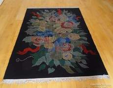 Gyönyörű gyapjú iparművész faliszőnyeg 140*207