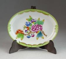 0M962 Viktória mintás Herendi porcelán hamutál