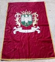 Egyházi történelmi zászló lobogó 140 x 94 cm