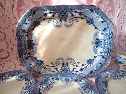 Antik Semi porcelán süteményes szett