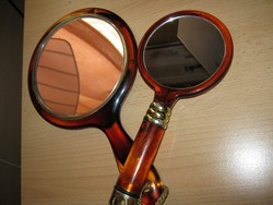 Retro kézitükör pipere tükör kisebb