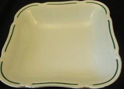 Drasche négyszögletes porcelán tál