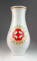 0N109 Alföldi porcelán váza véradásért 19 cm