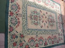 2 db antik szövött terítő, takaró