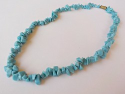 Kék ásvány nyaklánc