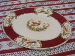 Jelzett porcelán Royal crown paradicsommadaras sültes kínáló