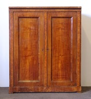 0N308 Antik kétajtós biedermeier ruhásszekrény