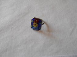 Tűzzománc díszítésű gyűrű