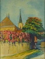 0M504 Greguss Alice : Templomkert 1924