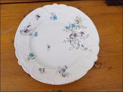 Antik ibolyamintás asztalközép ,  kézifestésű , plasztikus mintával