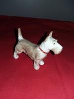 Eladó foxi porcelán kutyus.