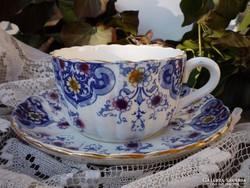Antik, fajansz csésze - Sarreguemines