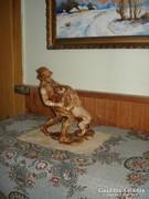 Faragott  szobor 33cm ajánlatra vár