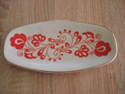 Zsolnay porcelán tálka