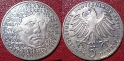 Német 5 DM 1983 G