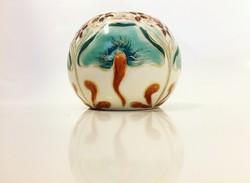 Gyönyörű mintás Zsolnay kis váza!