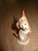 Aquincumi porcelán kutya figura