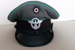 Schutzpolizei tiszthelyettesi sapka