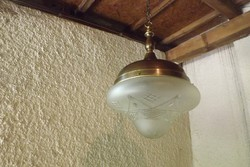 """Antik lámpa függeszték """"nagyobb méretű"""""""