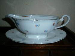 Antik Drasche porcelán mártásos