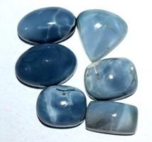 Eredeti Ausztrál kékopál kaboson kövek