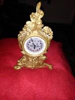 Asztali bronz vintage ora