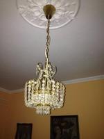 Preciosa kristályüveg csillár és éjjeli lámpa (1-1 db)