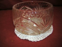 Csiszolt üveg/kristály bonbonier
