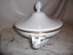 Fischer Emil porcelán kínáló (empire)