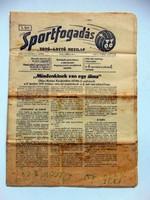 SPORTFOGADÁS1976február1 RÉGI ÚJSÁG