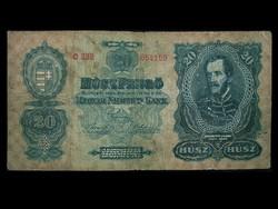 20 PENGŐ 1930 - NAGYON SZÉP - RITKA BANKJEGY