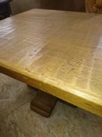 Tölgy kisasztal eladó