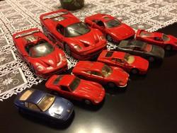 Limitált kiadású Ferrari autó modellek
