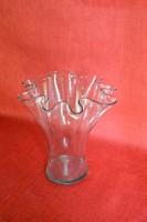 Különleges virágszirom alakú Üveg Váza