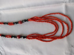 Spectacular genuine coral chain